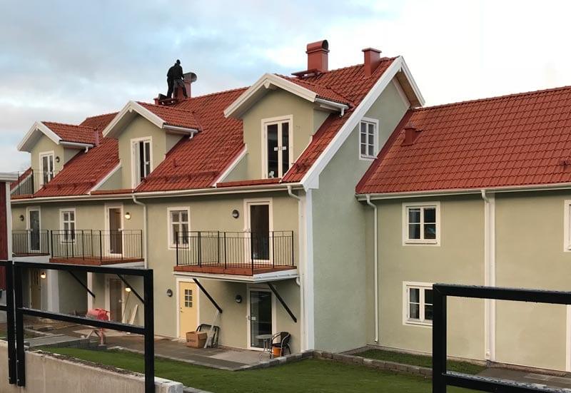Nio nya lägenheter på Sjögatan 48