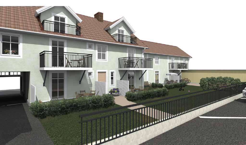 Nio nya lägenheter på Sjögatan 48 – nu finns planritningar att ladda ned